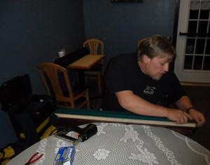 pool table installation 2